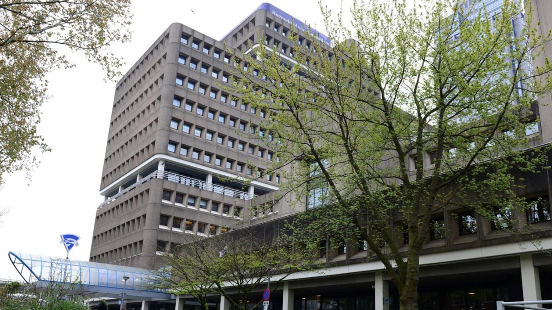 Zonnecollectoren Hogeschool Amsterdam