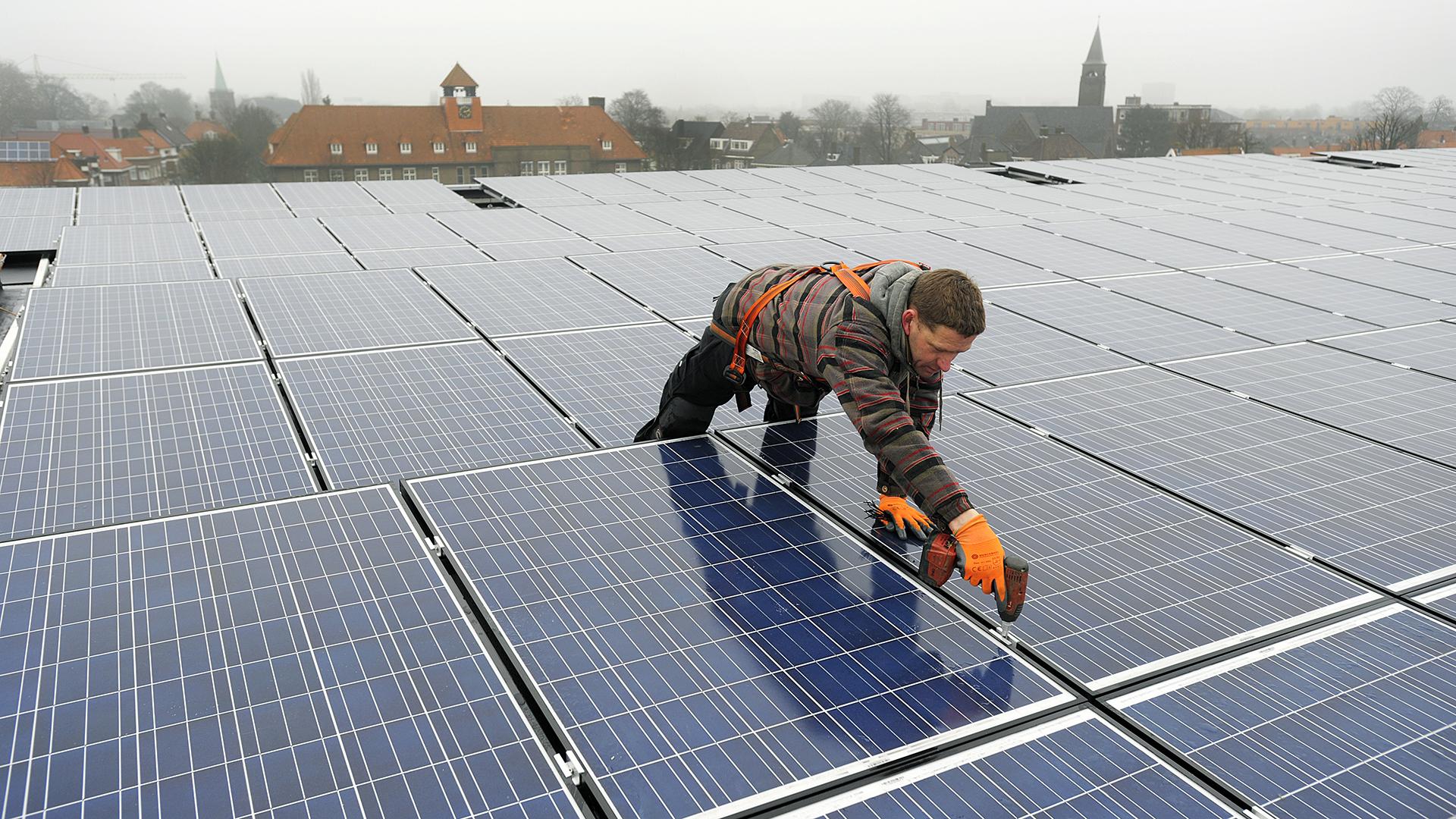 Zonne-energie voor Gemeente Sliedrecht