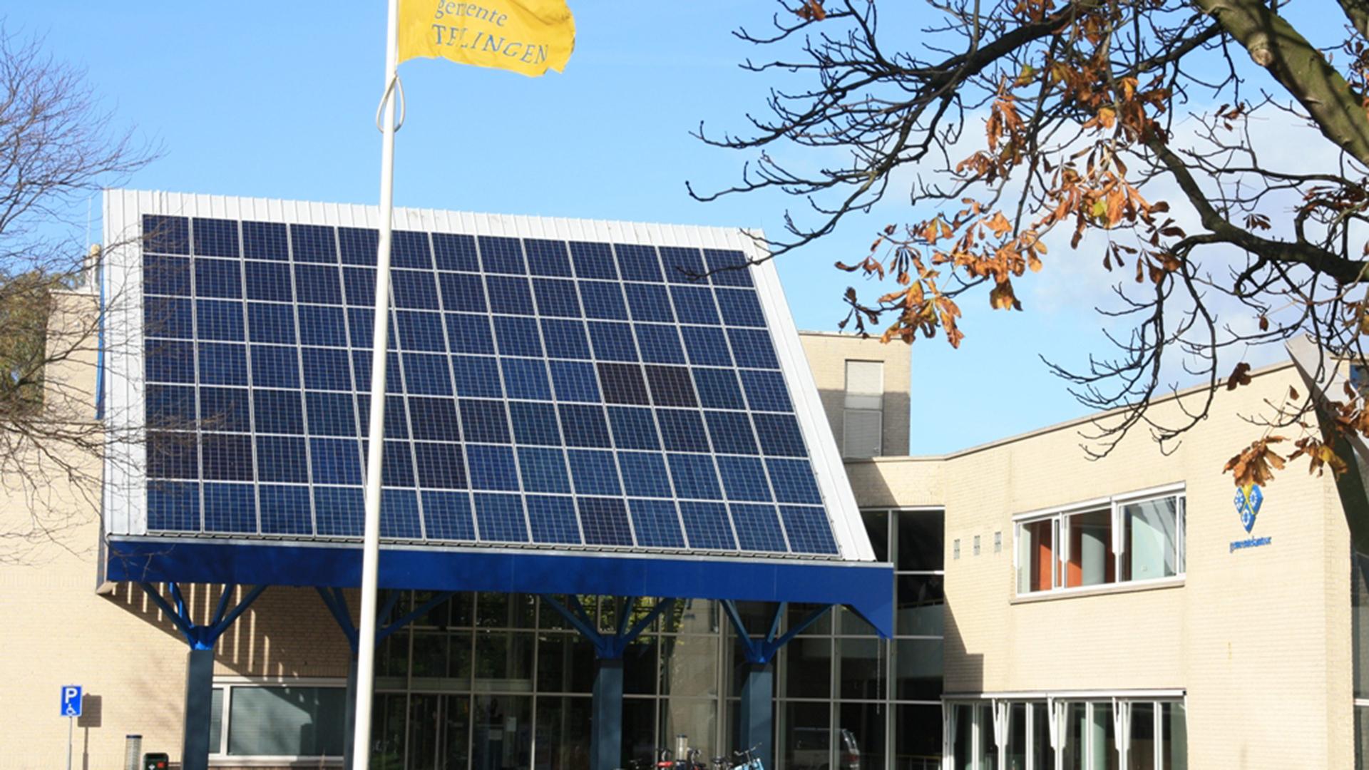 PV panelen voor Gemeente Teylingen