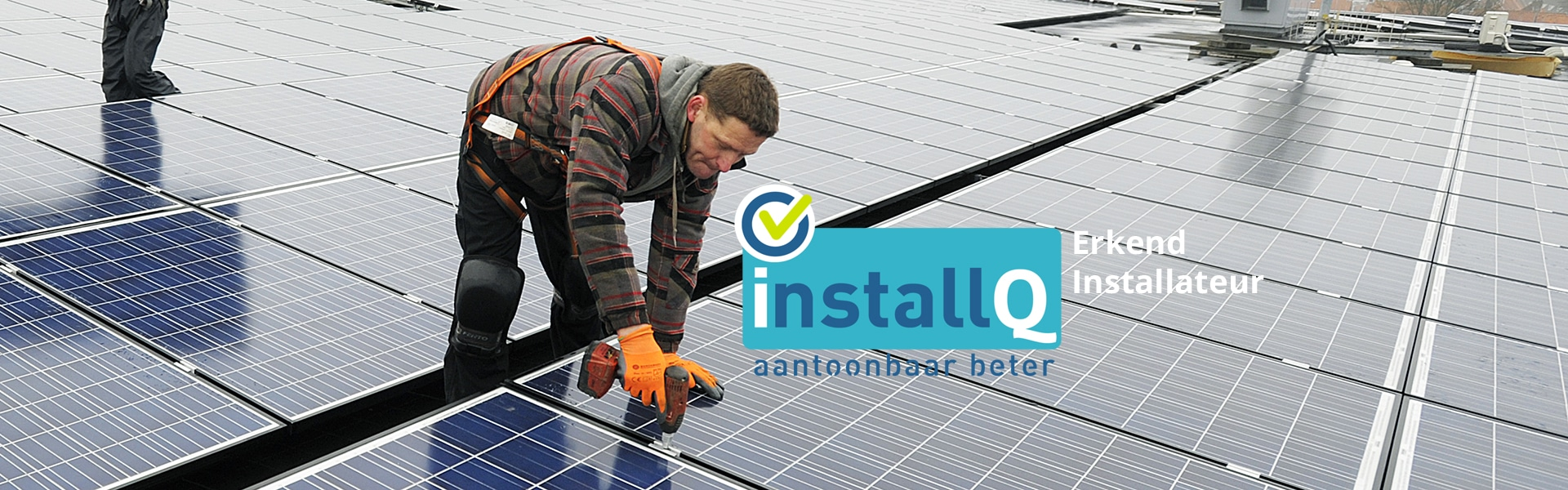 Oranjedak Energy is erkend installQ installateur